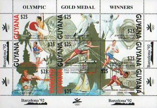 [Olympic Games - Barcelona, Spain - Gold Medal Winners, Typ ]
