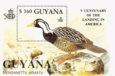 [The 500th Anniversary of the Discovery of America, 1992 - Birds, Typ ]