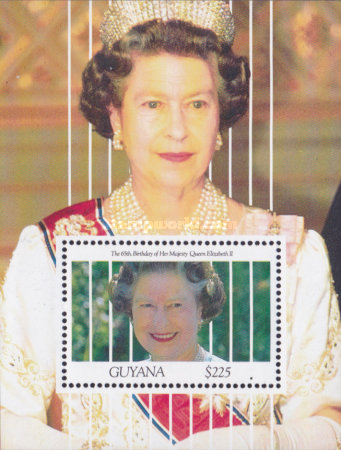 [The 65th Anniversary of the Birth of Queen Elizabeth II, Typ ]
