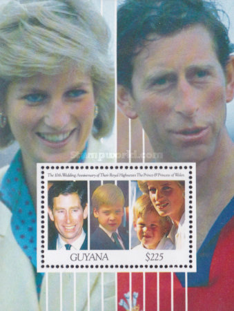 [The 10th Anniversary of the Wedding of Prince Charles and Princess Diana, Typ ]