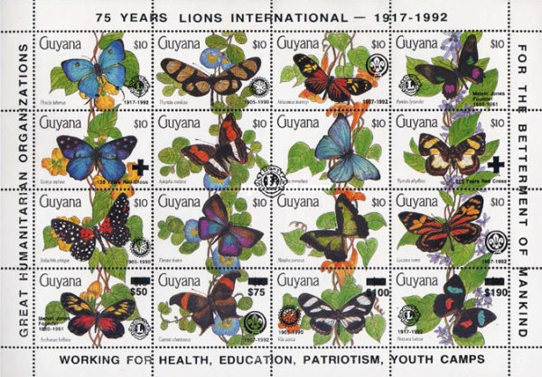 [Charitable Organizations - The 75th Anniversary of Lions International, 1992, Typ ]