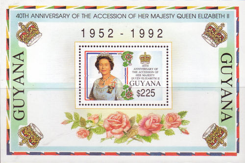 [The 40th Anniversary of Queen Elizabeth II's Accession, Typ ]