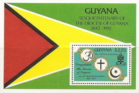 [The 150th Anniversary of Diocese of Guyana, Typ ]