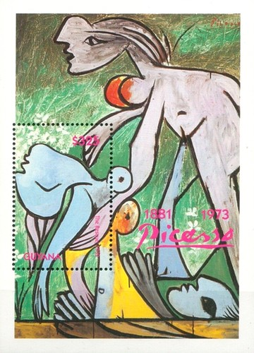 [The 10th Anniversary of the Death of Pablo Picasso, 1881-1973, Typ ]
