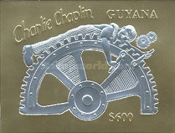 [The 105th Anniversary of the Birth of Charles Chaplin, 1889-1977, Typ ]