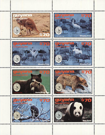 [The 100th Anniversary of Sierra Club, Environmental Protection Society, 1992 - Endangered Species, Typ ]