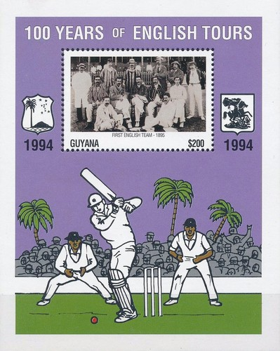 [The 100th Anniversary of First English Cricket Tour to the West Indies, Typ ]