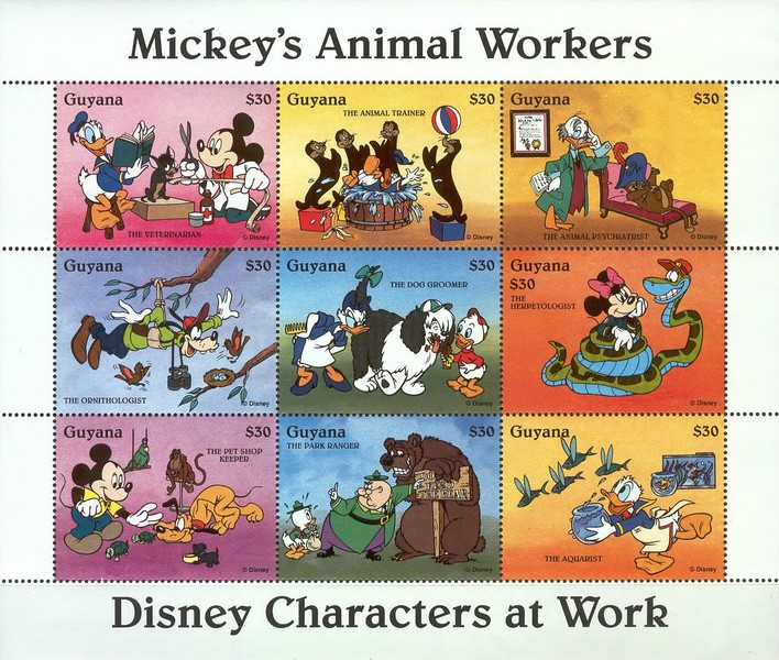 [Disney Characters at Work, Typ ]