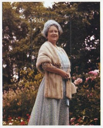 [The 95th Anniversary of the Birth of Queen Elizabeth the Queen Mother, 1900-2002, Typ ]