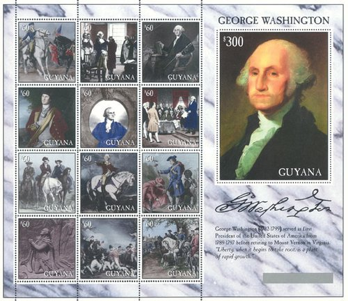 [The 200th Anniversary of George Washington's Retirement from U.S. Presidency, Typ ]