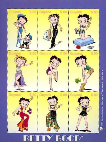 [Betty Boop, Cartoon Character, Typ ]