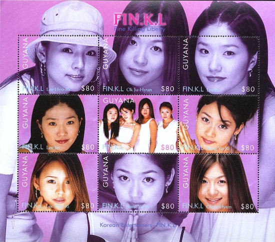 [Fine Killing Liberty, FIN.K.L, Korean Girl Group, Typ ]