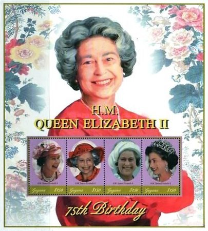 [The 75th Anniversary of the Birth of Queen Elizabeth II, Typ ]