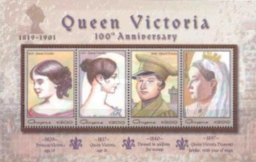 [The 100th Anniversary of the Death of Queen Victoria, 1819-1901, Typ ]