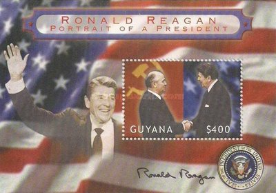 [Ronald Reagan, President of U.S.A 1981-1989, Typ ]