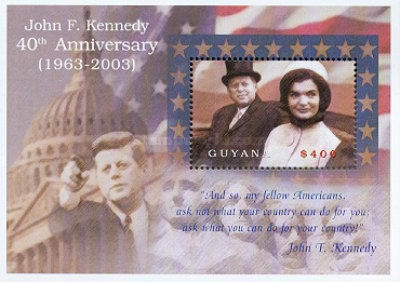 [The 40th Anniversary of the Death of John F. Kennedy, 1917-1953, Typ ]
