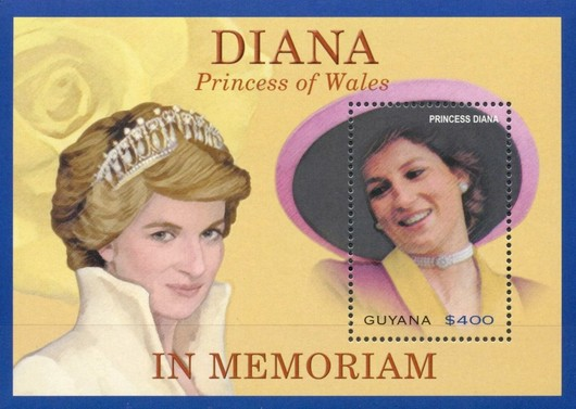 [The 6th Anniversary of the Death of Diana, Princess of Wales, 1961-1997, Typ ]