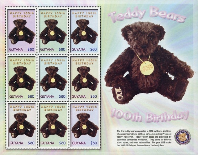 [The 100th Anniversary of Teddy Bears, Typ ]