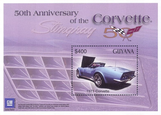 [The 50th Anniversary of the Corvette, Typ ]