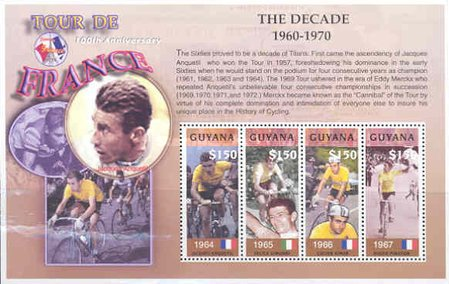 [The 100th Anniversary of Tour de France - Winners 1964-1967, Typ ]