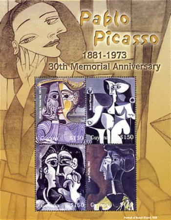 [The 30th Anniversary of the Death of Pablo Picasso, Artist, 1881-1973, Typ ]