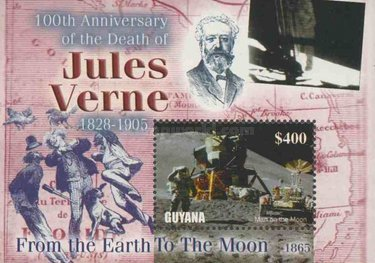 [The 100th Anniversary of the Death of Jules Verne, Writer, 1828-1905, Typ ]