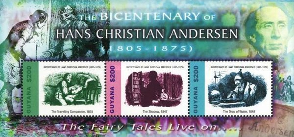 [The 200th Anniversary of the Birth of Hans Christian Andersen, Writer, 1805-1875, Typ ]