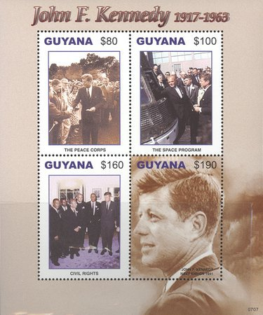 [The 90th Anniversary of the Birth of John F. Kennedy, 1917-1963, Typ ]