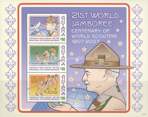 [The 100th Anniversary of Scout Movement, Typ ]
