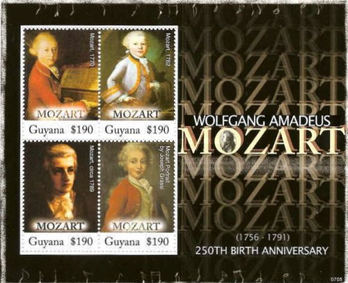 [The 250th Anniversary of the Birth of Wolfgang Amadeus Mozart, 1756-1791, Typ ]
