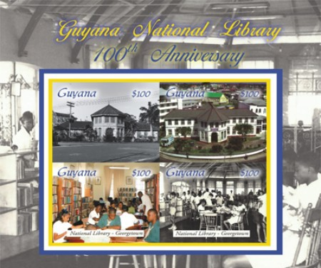 [The 100th Anniversary of Guyana National Library, Typ ]