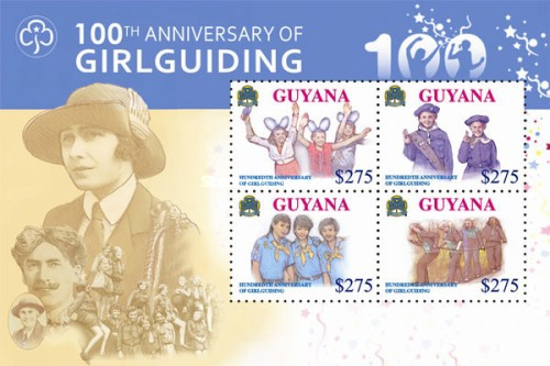 [The 100th Anniversary of Girlguiding, type ]