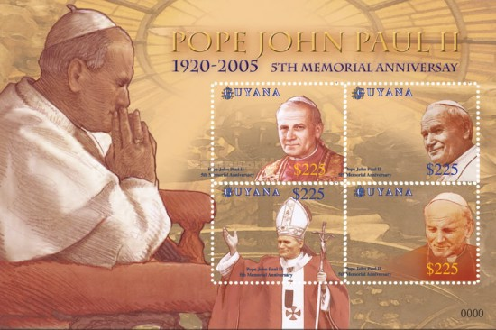 [The 5th Anniversary of the Death of Pope John Paul II, 1920-2005, Typ ]