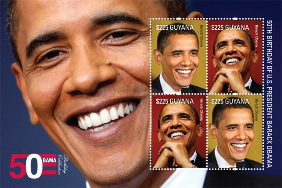 [The 50th Anniversary of the Birth of Barack Obama, type ]