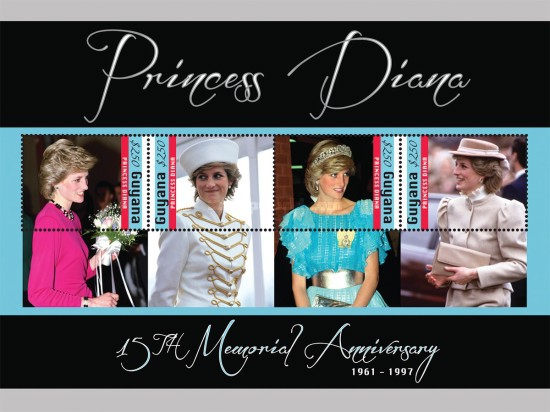 [The 150th Anniversary of the Death of Princess Diana, 1961-1997, Typ ]