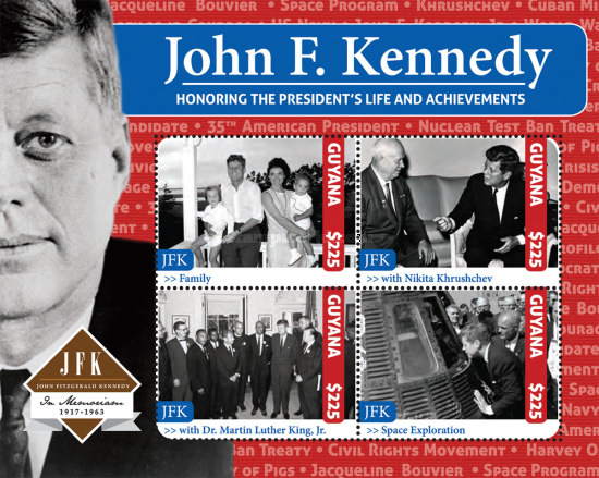 [The 50th Anniversary of the Death of John F. Kennedy, 1917-1963, Typ ]