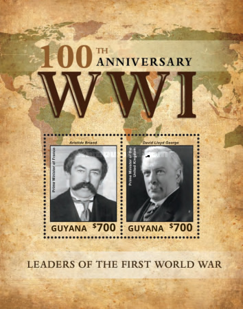 [The 100th Anniversary of the Beginning of World War I - Leaders of World War I, Typ ]