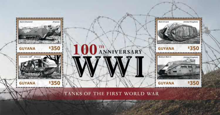 [The 100th Anniversary of the Beginning of World War I - Tanks of the First World War, Typ ]