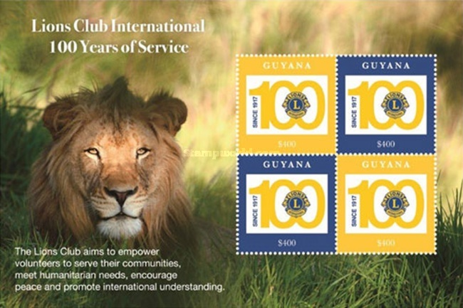 [The 100th Anniversary of Lions Clubs International, Typ ]