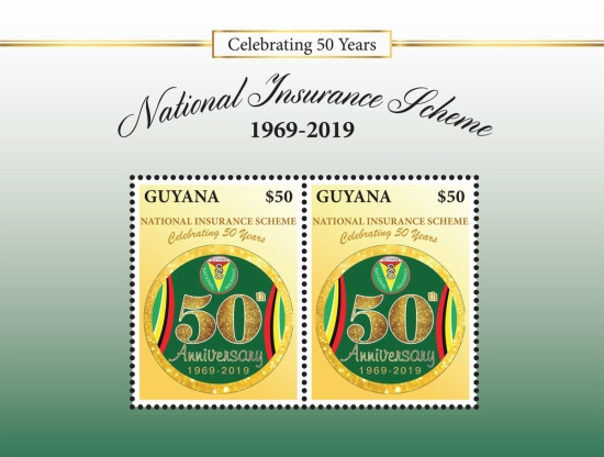 [The 50th Anniversary of the National Insurence Scheme, type ]