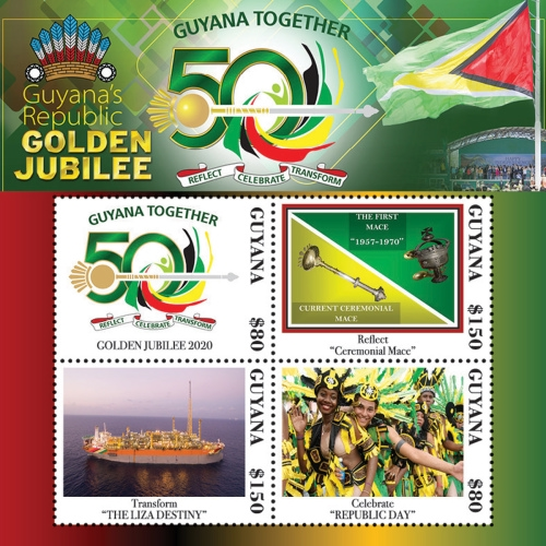 [The 50th Anniversary of the Republic of Guyana, Typ ]