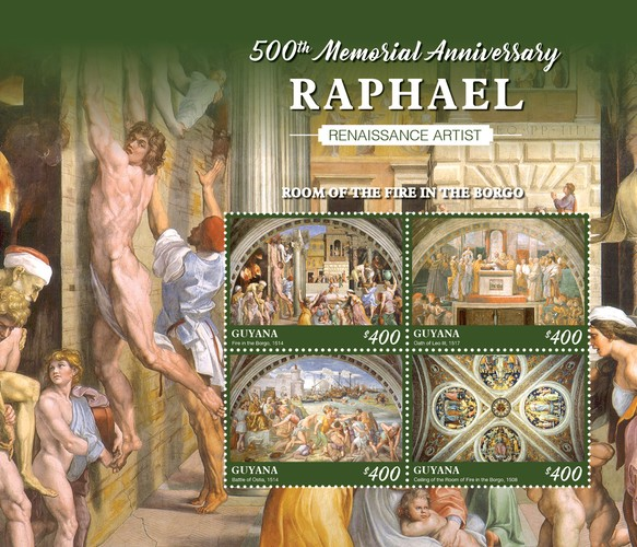 [The 500th Anniversary of the Death of Raphael, 1483-1520, Typ ]