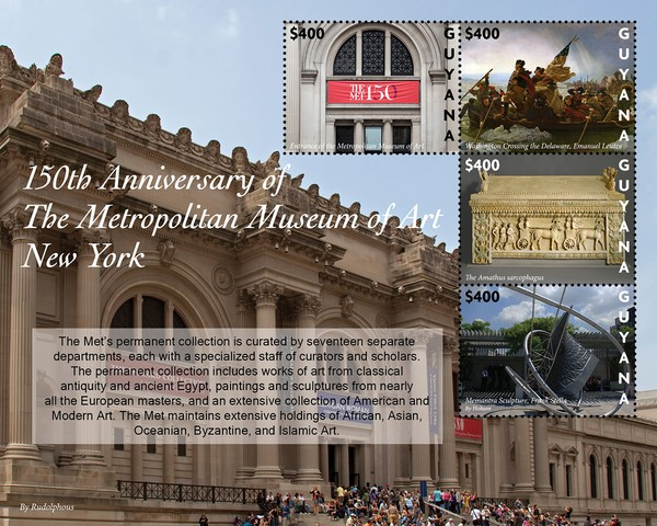 [The 150th Anniversary of the Metropolitan Museum of New York, type ]