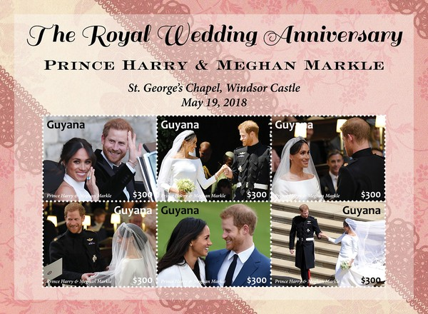 [The 3rd Anniversary of the Royal Wedding of Prince Harry and Meghan Markle, type ]