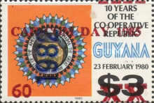 [CARICOM Day - Issue of 1983 Overprinted
