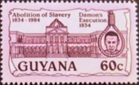 [The 150th Anniversary of Abolition of Slavery, Typ ACJ]