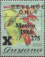[Football World Cup - Mexico - Previous Issue Overprinted