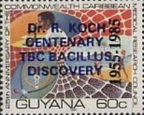 [The 30th Anniversary of Commonwealth Caribbean Medical Research Council - Various Stamps Overprinted