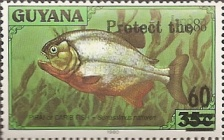 [Wildlife Protection - Issue of 1980 Surcharged, Typ AHU]