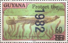 [Wildlife Protection - Issue of 1982 Surcharged, Typ AHV5]
